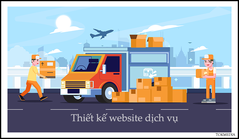 thiet ke website dich vu